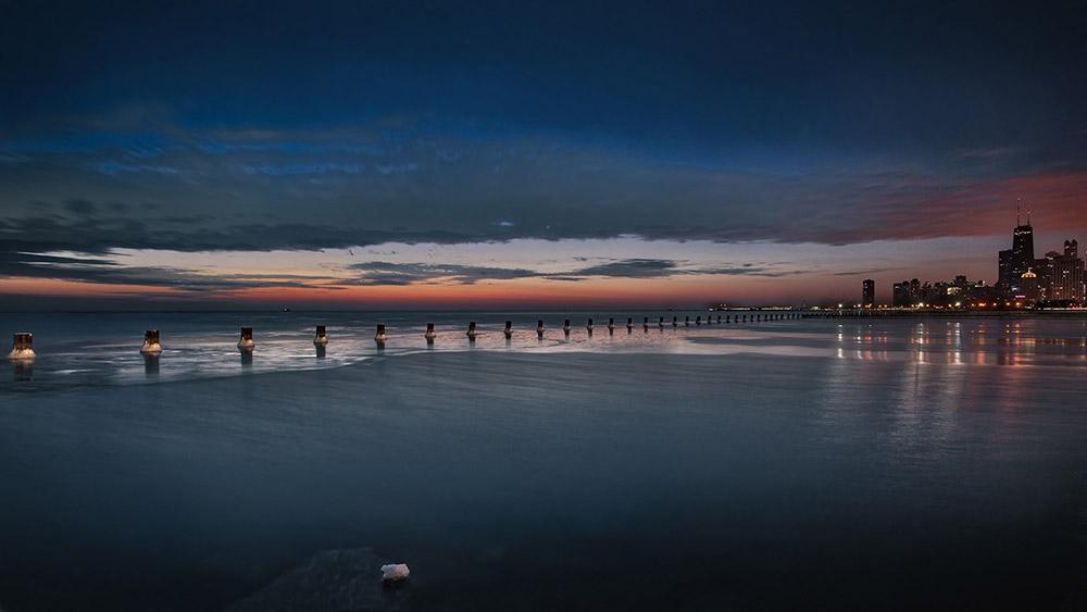 Winter Sunrise Fullerton