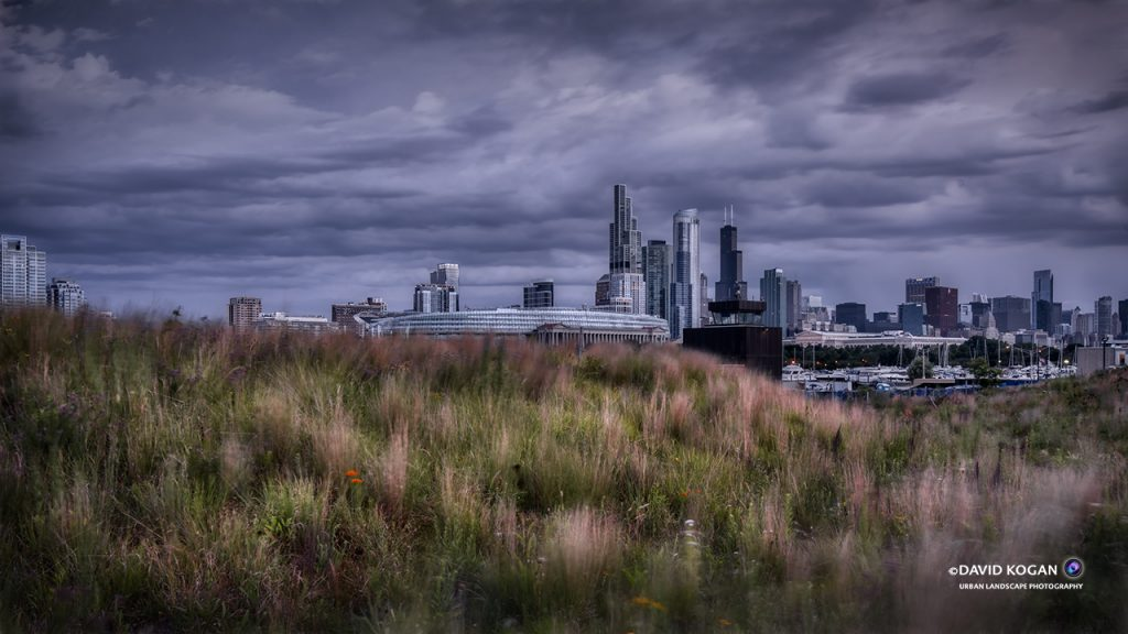 Chicago Skyline from Northerly Island