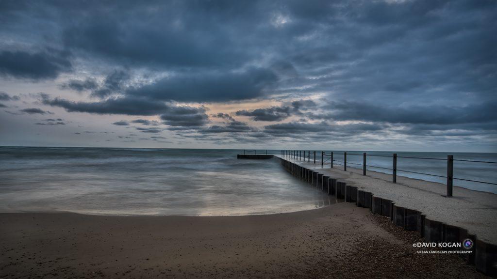 Cloudy Sunrise Hartigan Pier North Shore