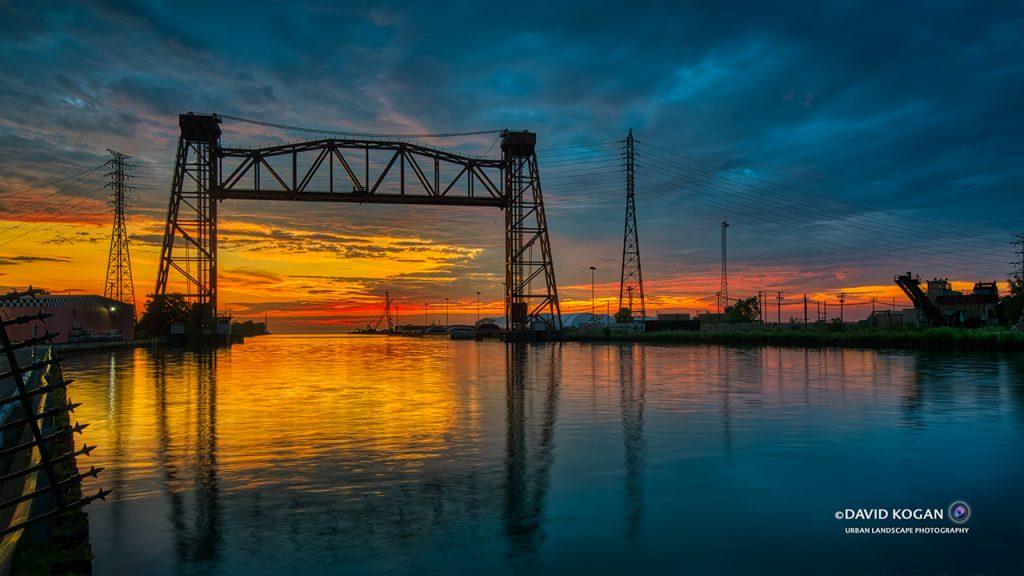 Sunrise Calumet Harbor