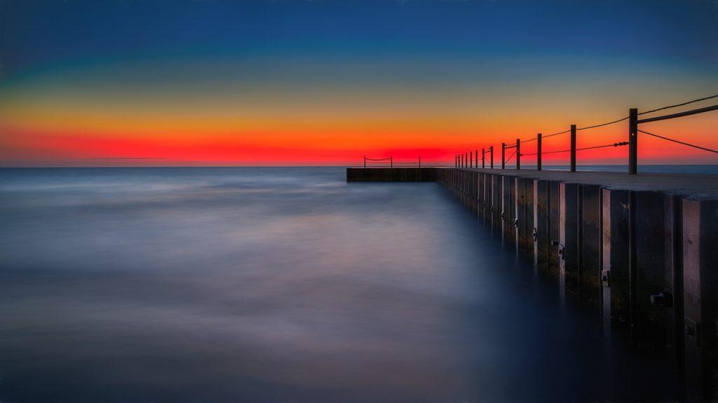 Red Line Hartigan Pier
