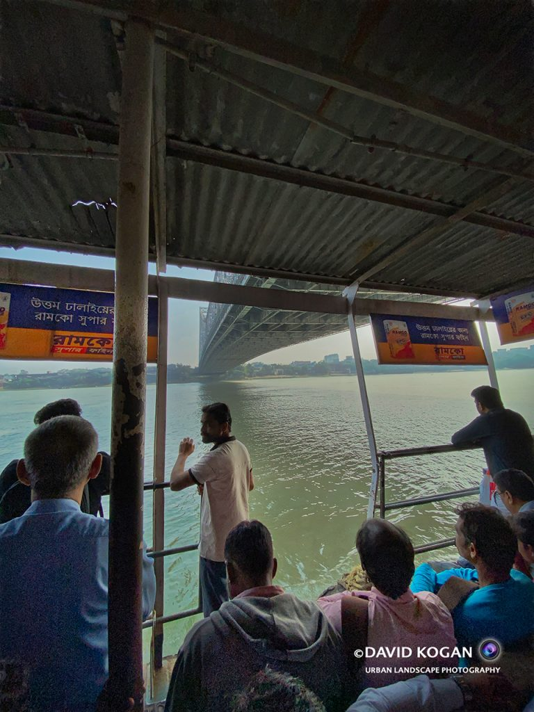 Ferry Across Hooghly River