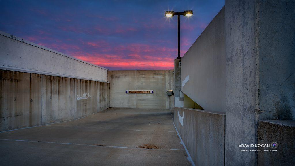 Parking Lot Sunrise