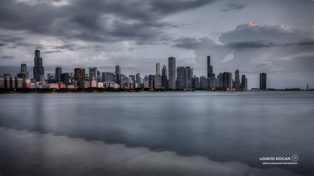 Chicago Skyline Looking North