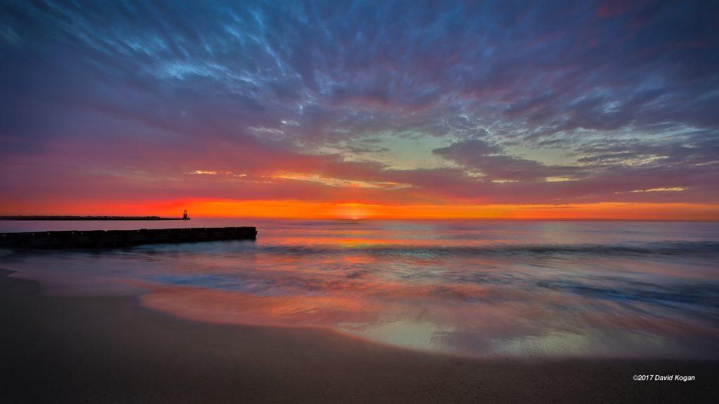 Red Sunrise North Shore