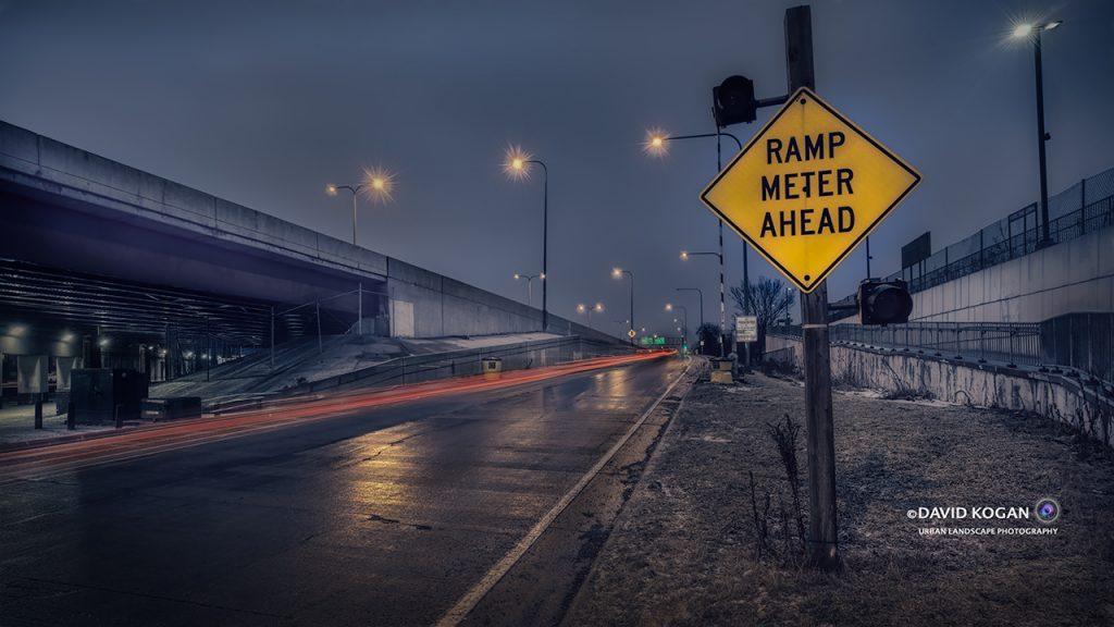 Kennedy Ramp Ahead