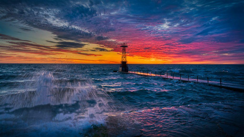 Sunrise Storm - Foster