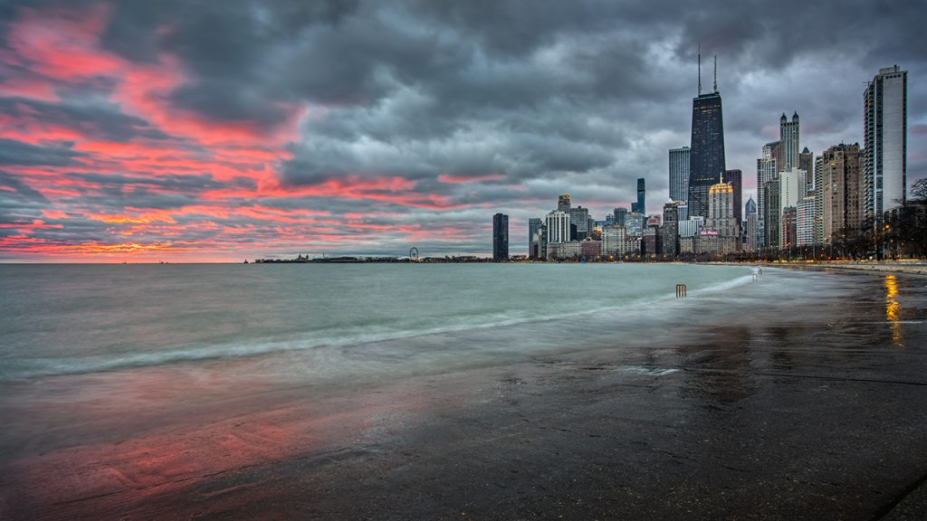 Red Sky - North Ave