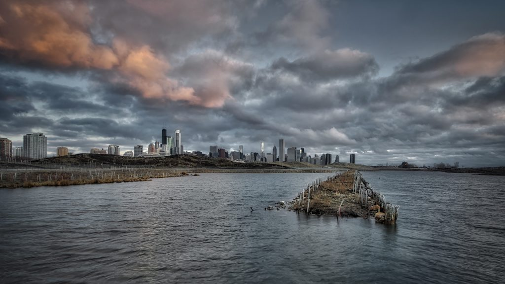 Chicago Skyline - Northerly Island